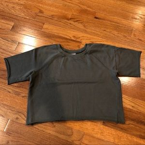 Mossimo Supply Co. Cropped Sweatshirt
